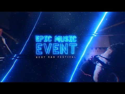 Epic Music Event After Effects Template