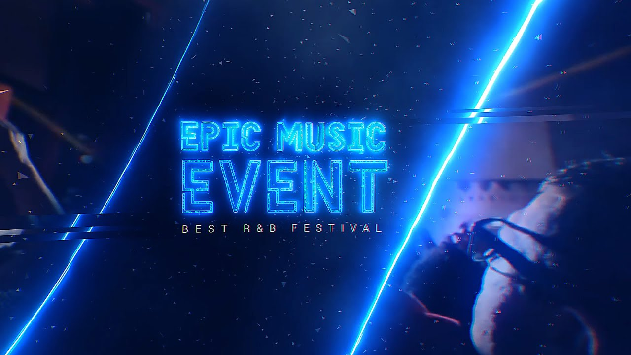 epic music event after effects template youtube. Black Bedroom Furniture Sets. Home Design Ideas