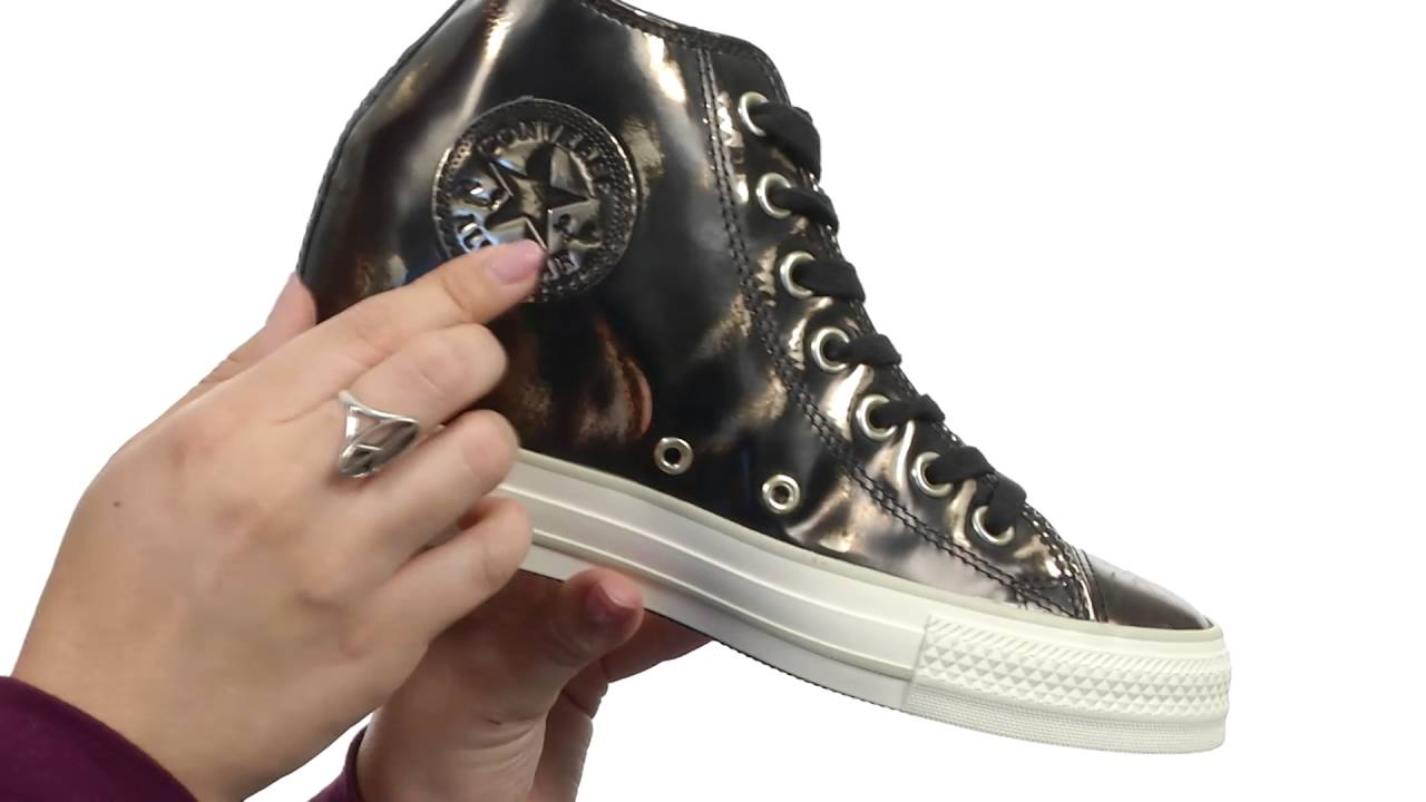 ba275ebc04bbd4 Converse Chuck Taylor® All Star® Lux Brush-Off Leather Mid SKU 8751342