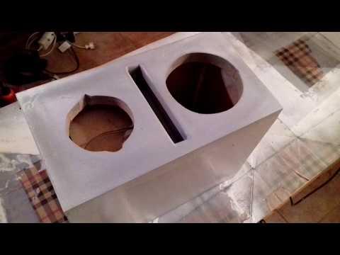 DIY speaker build log - small near field monitor speakers
