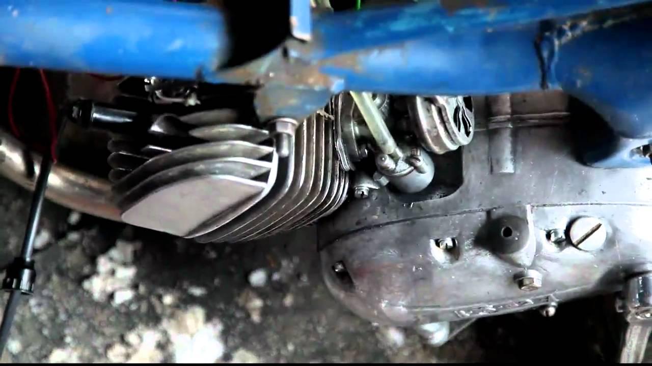 схема двигателя в разборе v50 мопед дельта