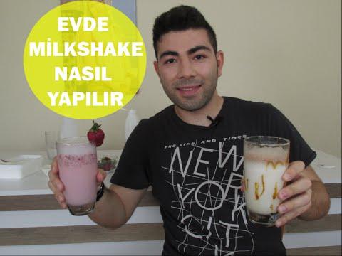 Milkshake Nasıl Yapılır? Çilekli Ve Çikolatalı Milkshake Tarifi