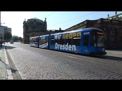 Straßenbahn Dresden   DVB Bombardier NGT D12DD / NGT D8DD / NGT8DD & DWA NGT6DD-ER / NGT6DD-ZR