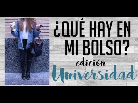 ¿Qué hay en mi bolso de la UNIVERSIDAD? 2017-2018   Beatriz Lavega