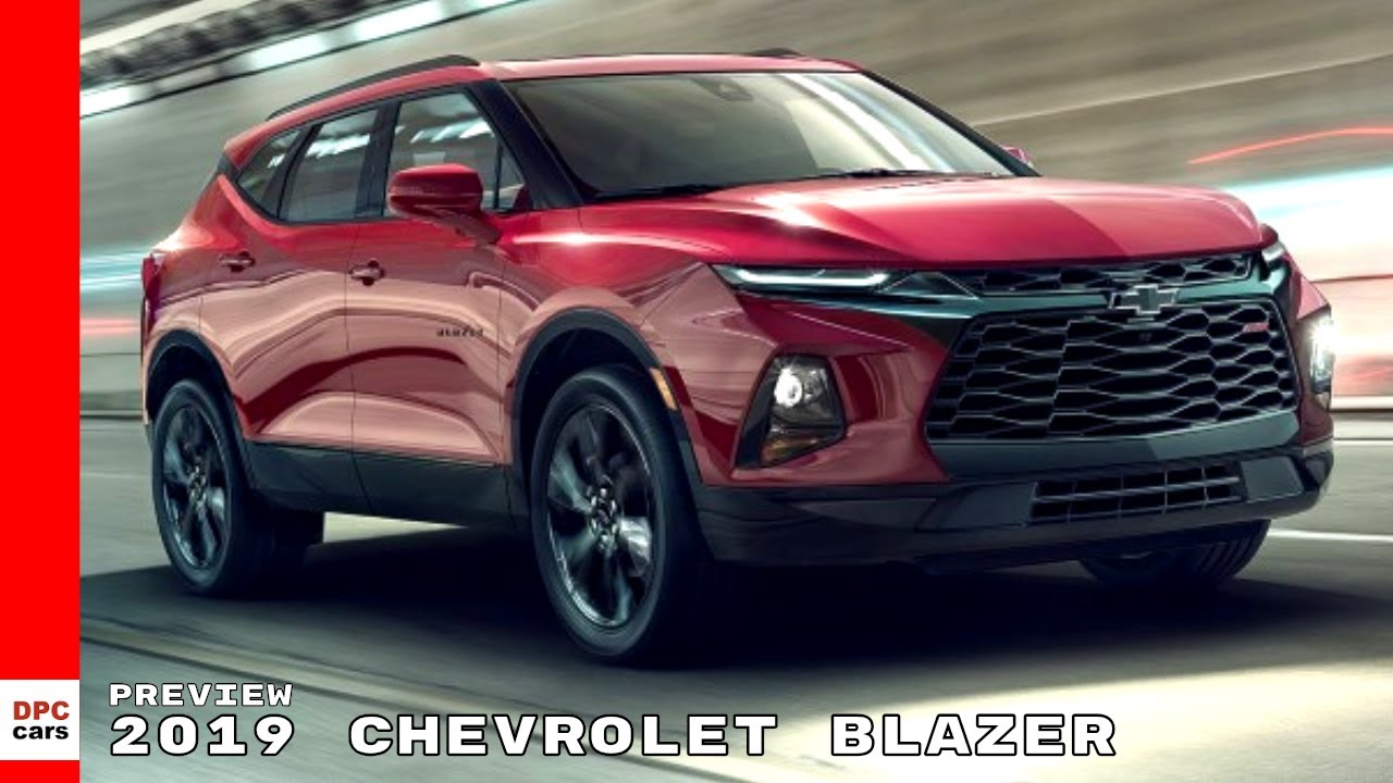 2019 Chevrolet Blazer Preview Youtube