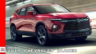 2019 Chevrolet Blazer Preview