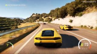 Forza Horizon 2 Demo - Lamborghini Huracan Gameplay