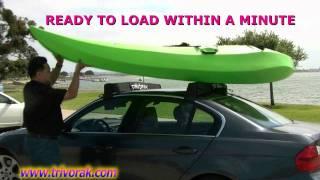 Trivorak, Instant Mount Polyethylene Car Racks