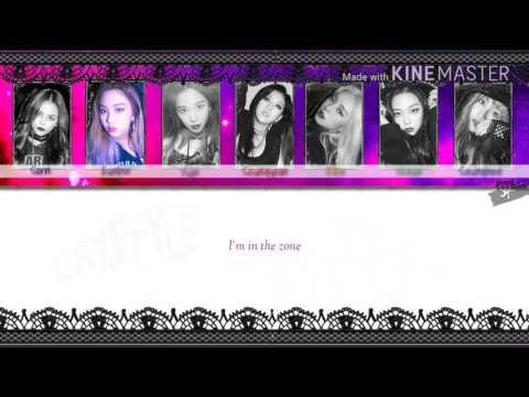 CLC ( 씨엘씨) - Hobgoblin [Karaoke Ver.] Color Coded Lyrics [Instrumental/Kpop]