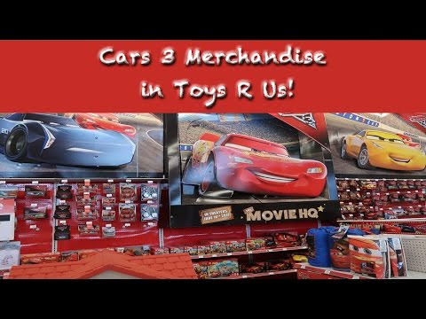 Cars 3 Merchandise In Toys R Us!