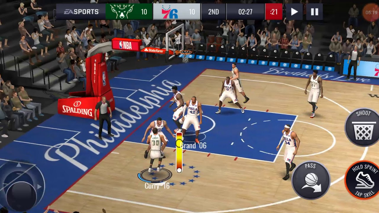 Nba mobile live score best dunks by curry - YouTube
