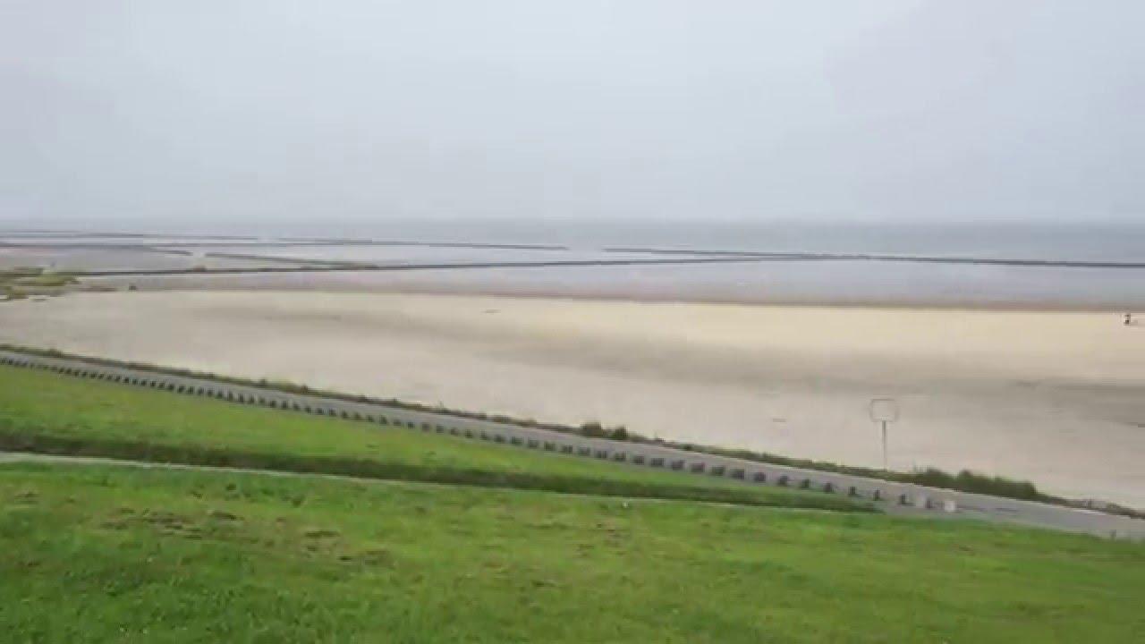 Hundestrand Norden Norddeich - YouTube