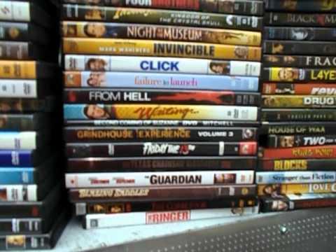 dvds cds video games flea market garage yard estate sale finds pick ups 1 of 2 5 26 2012. Black Bedroom Furniture Sets. Home Design Ideas