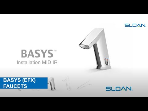 BASYS™ Mid (IR) Faucet Installation and Maintenance - YouTube