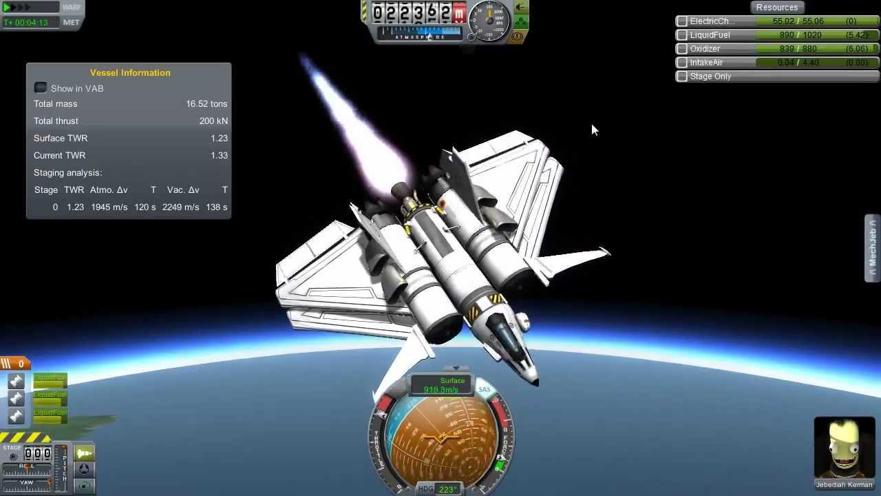 kerbal space program shuttle design - photo #17