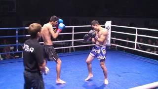 3 пара Тайский Бокс. Рахимов Сиродж (Россия, Магнитогорск) VS Умирбеков Темирлан (Казахстан, Рудный)