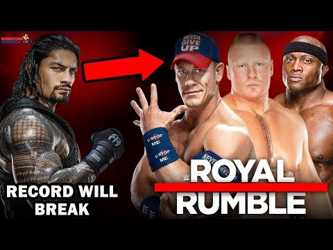 ROMAN REIGNS Huge Record Will Break?! | WWE Royal Rumble 2019 |