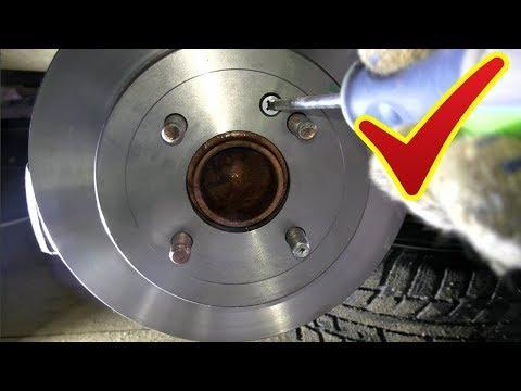Замена задних тормозных дисков и колодок+обслуживание суппорта на Солярисе или Киа Рио