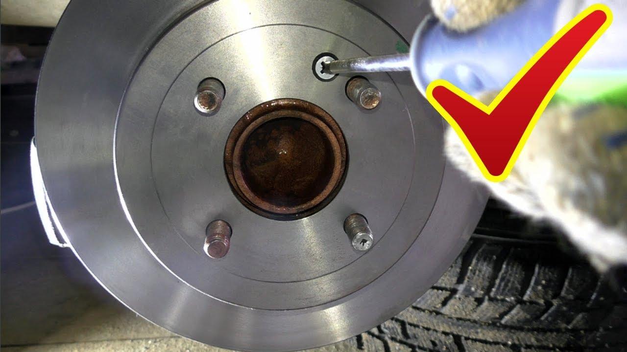 Замена задних тормозных дисков и колодок+обслуживание ...