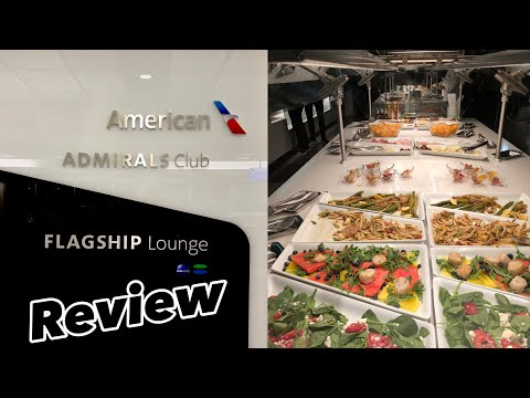 Lounge Review | American Airlines Flagship Lounge  | LAX