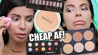 FOREVER 21 MAKEUP FIRST IMPRESSIONS | HIT OR MISS?