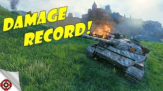 World of Tanks - Object 907 DAMAGE RECORD! (WoT OBJ 907 gameplay)