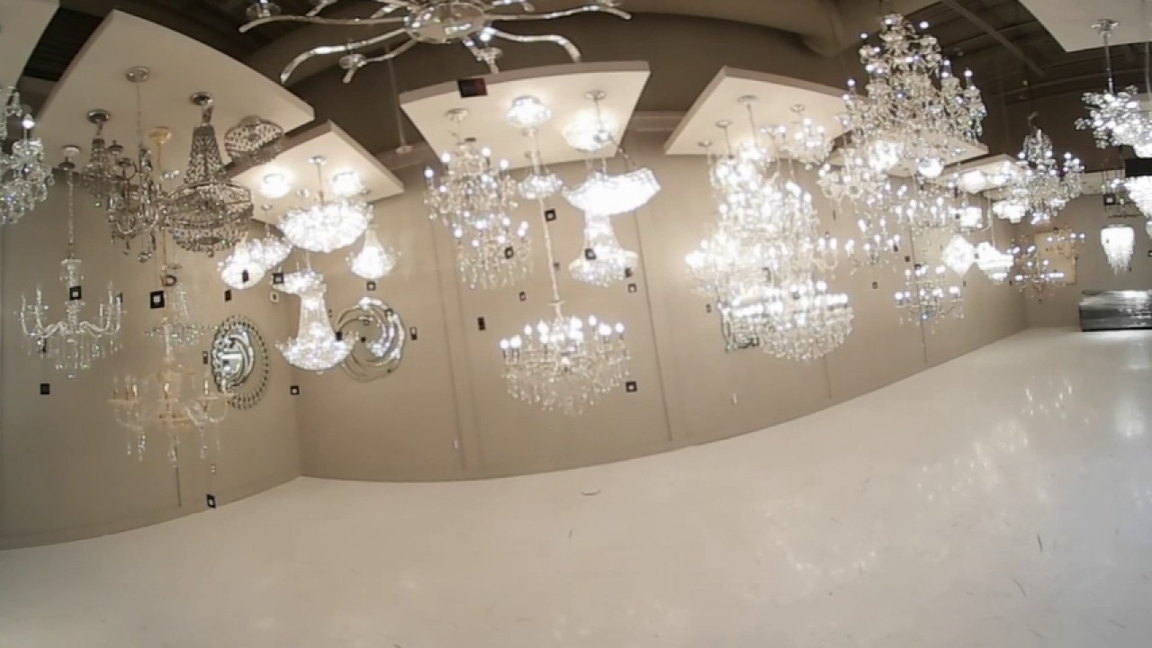 Prima Lighting Swarovski Showroom You
