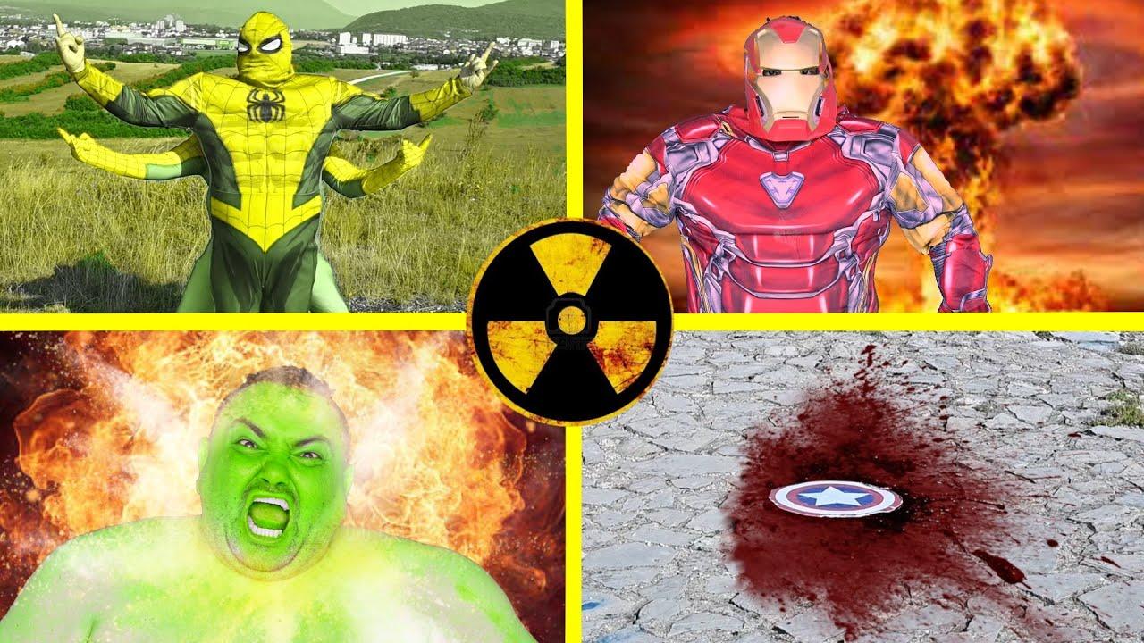 Dropping Nuke On All Superheroes