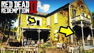 THIS HOUSE HAS A DARK SECRET YOU NEED TO SEE in Red Dead Redemption 2! RDR2 Easter Egg Secrets!