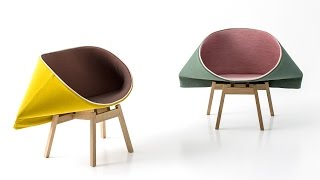 Raw Edges On The Design Studio's Kenny And Sugar Furniture For Moroso
