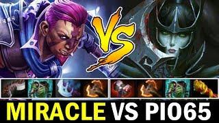 MIRACLE vs DENDI New Team Carry PIO65 — Antimage vs PA Dota 2