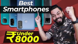 Top 5 Best Mobile Phones Under ₹8000 Budget ⚡⚡⚡ November 2020