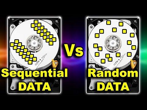 Random Vs Sequential DATA Access Explained | Processor Direct Memory Access (CPU DMA) Hindi