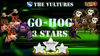 Clash of Clans ◘ Clean-Up Attack ◘ 3 Stars Attack ◘ GoHog