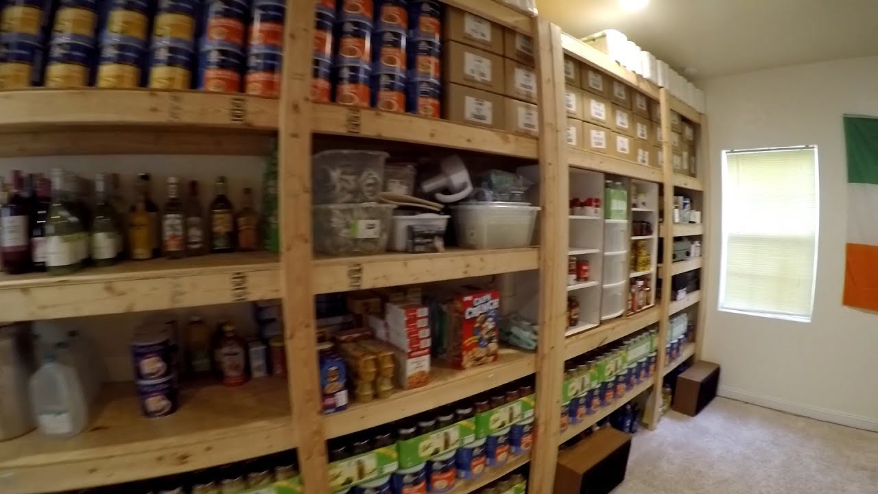 Tour Of My Prepper Pantry Youtube