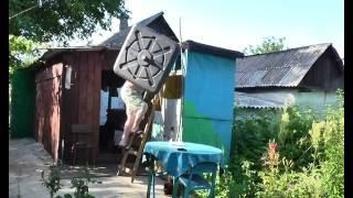 видео Установка летнего дачного душа