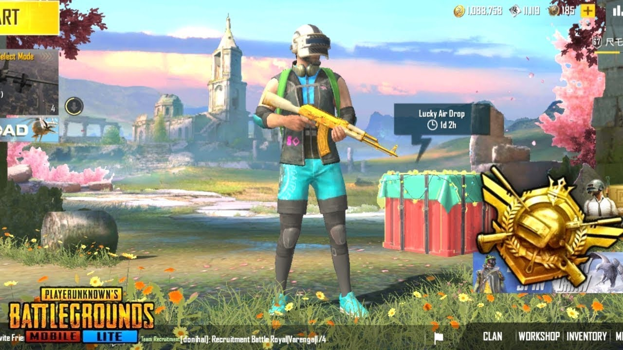 PUBG MOBILE LITE LIVE || DROP HUNTING || FULL RUSH GAMEPLAY || LIKE AND SUBSCRIBE