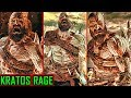 God Of War 4 All Spartan Rage Combat Attacks (Kratos Rage) Rage Combat