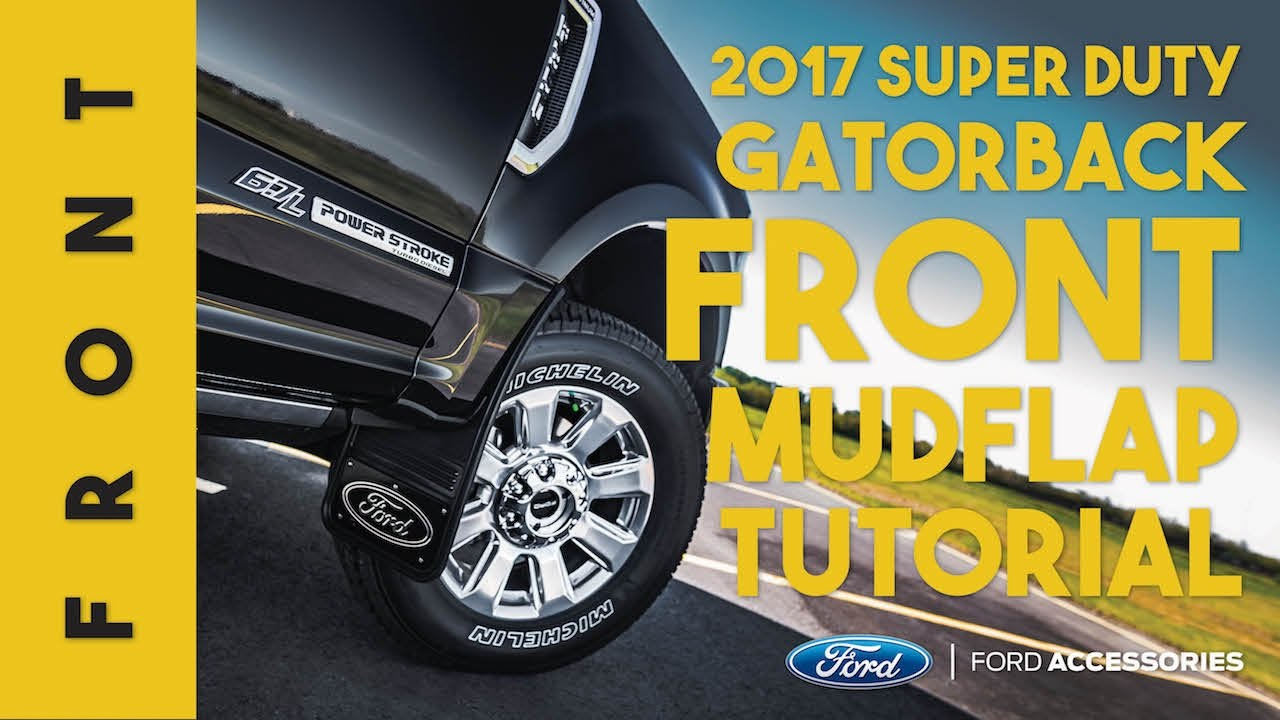 2016 F350 Super Duty >> 2017 Ford Super Duty Gatorback Installation - Front (Ford Custom Accessories) - YouTube