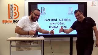 1) AliCan İle ÖABT Sınıf Öğretmenliği Genel Tekrar I -2020
