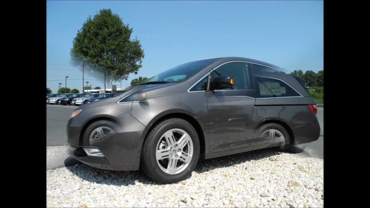 2012 Honda Odyssey Touring Elite Smoky Topaz Metallic Youtube