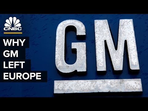 Why General Motors Left Europe