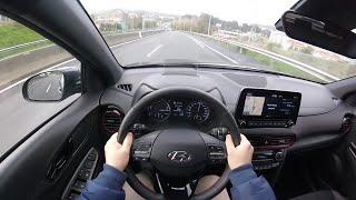 Hyundai Kona Hybrid Tecno Red (2019) Pov Test Drive