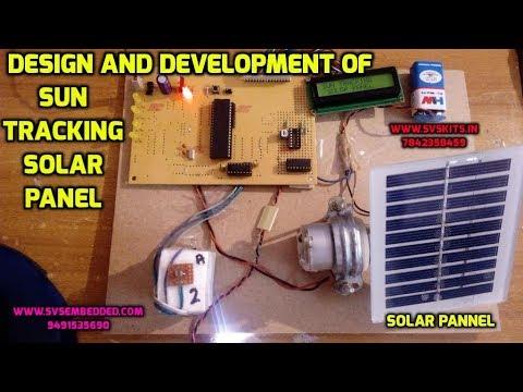 Design and Development of Sun Tracking Solar Panel