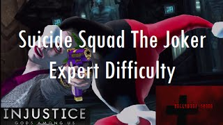 Injustice Gods Among Us iOS - Suicide Squad The Joker Challenge Full Expert Difficulty