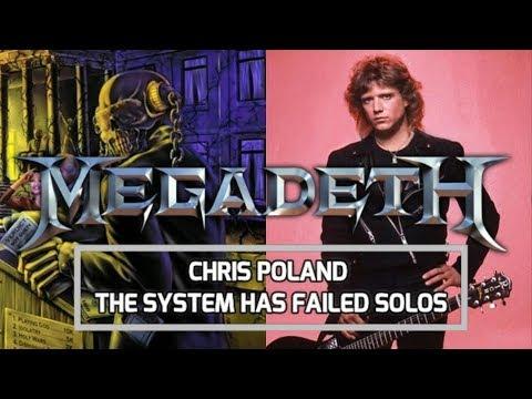 CHRIS POLAND The System Has Failed SOLOS MEGADETH
