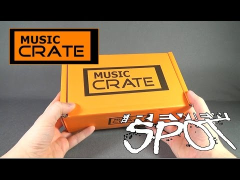 Subscription Spot - Music Crate February 2016 Subscription Box OPENING!
