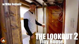 Tiny House Has A Large Kitchen Area And Gorgeous Bathroom