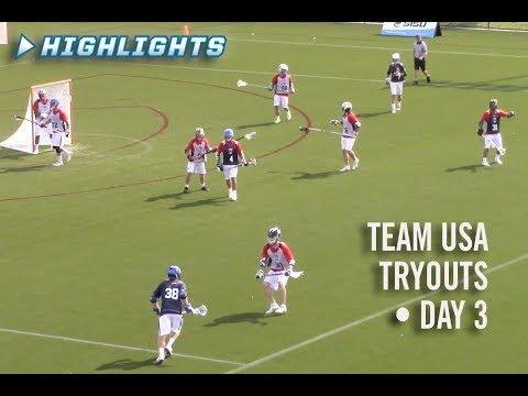 US Men's National Team Tryout - Day 3 Highlights