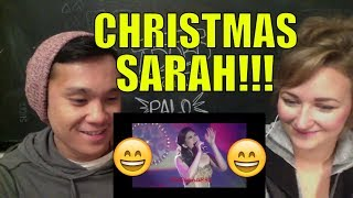 Sarah Geronimo - Have Yourself A Merry Little Christmas REACTION